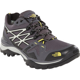 The North Face Hedgehog Fastpack GTX Shoes Herr blackened pearl/acid yellow